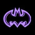 Batman_cutter.stl Download free STL file Batman cookie cutter • 3D printer object, simiboy