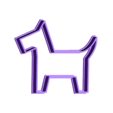 dogery_cookie_form.stl Télécharger fichier STL gratuit Coupe-biscuit pour chien • Plan pour imprimante 3D, simiboy