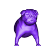 dog2_front.stl Download free STL file Mixable dog models - Puzzle game • Design to 3D print, simiboy