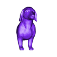 dog1_front.stl Download free STL file Mixable dog models - Puzzle game • Design to 3D print, simiboy