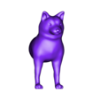 dog3_front.stl Download free STL file Mixable dog models - Puzzle game • Design to 3D print, simiboy