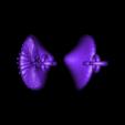 pileus mushroom pendant.STL Download STL file pileus mushroom pendant earrings • Design to 3D print, AramisFernandez