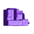 Pueblo-Low-stl.stl Download STL file Pueblo desk pot • 3D printer model, pumpkinhead3d