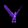 vbvbvbr.STL Download STL file owl pendant • 3D printer object, AramisFernandez