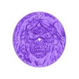 reloj_iron_maiden.stl Download free STL file Eddie watch (IRON MAIDEN) • Design to 3D print, 3dlito