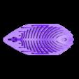 Leaf0020.stl Download free STL file Earing -Leaf • 3D printer template, GeorgesNikkei