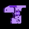 dasaki_MK8ish_extruder_body_1_75mm_LEFT.stl Télécharger fichier STL gratuit Dasaki MK8ish Extrudeuse à entraînement direct pour Prusa i3 (engrenage d'entraînement MK7) • Design pour imprimante 3D, dasaki