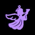 Agelito 2.stl Télécharger fichier STL porte-clés ange • Modèle pour impression 3D, abauerenator