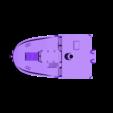 cas_modular_heck_top.stl Download free STL file CAS - the modular xyz-cube cargo ship • 3D printing template, vandragon_de
