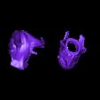 Helmet coupé.stl Download OBJ file daedra bust • 3D printing design, ErwinVa