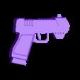 Pist1.1 .stl Download STL file Gun for a cosplay. • 3D printing design, URkA