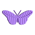 Articulated_Butterfly.stl Download free STL file Articulated Butterfly • 3D printer template, 8ran