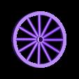 hans_wheel1_1.stl Download free STL file Ripper's London - The Hansom Cab • 3D printable design, Earsling
