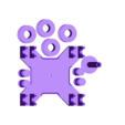 Prusa_Enclosure_Spool Holder.stl Download free STL file Original Prusa i3 MK3 ENCLOSURE -Ikea Lack table - Prusa Research • Template to 3D print, cisardom