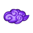 Cloud_007.stl Download STL file Asian Cloud n°7 • Template to 3D print, LeKid