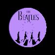 The beatles wall clock - .STL Download STL file The Beatles Wall clock • 3D printable template, Majs84