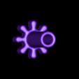 Gear_8_teeth.STL Download free STL file Automata-4 Ben rides around the clock • 3D printer template, woodenclocks