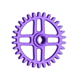 Gear_30_teeth.STL Download free STL file Automata-4 Ben rides around the clock • 3D printer template, woodenclocks