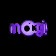 logo magigoo.STL Download free STL file piglet and support #MAGIGOO • 3D print object, mrj33
