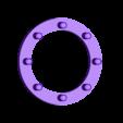 """Disc2.stl Télécharger fichier STL gratuit Charnière pour tube PVC 5/8"""". • Modèle imprimable en 3D, Lau85"""