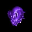 Maul_Black.stl Download free STL file Darth Maul Planter (remix) • 3D print template, Lau85