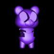 86Duino_bear_Deadpool_type_-_03.STL Download free STL file 86Duino Bear Deadpool • 3D printer template, 86Duino