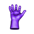 Hand.obj Download 3DS file Hand • Object to 3D print, Skazok