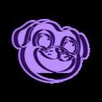 bingo_stamp.stl Download STL file Bingo Cutter - Cookie Cutter Puppy Dogs Pals • 3D printing design, TiendaDeCortantes