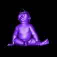 angry_baby_v02.obj Download OBJ file Angry baby improved version • 3D printing design, udograf