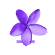 euroreprap_flower-plumeria_b.stl Download STL file flowers: Plumeria - 3D printable model • 3D printable template, euroreprap_eu