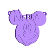 nereamickey.stl Download free STL file Pendant Nerea Mickey • Object to 3D print, 3dlito