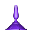 Lumiere_Back_Down(Fixed).stl Download free STL file Lumière (Beauty and the beast) • 3D printing design, Gunnarf1986