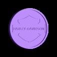 porte vers PAULV2.STL Download free STL file Harley Davidson Coasters • 3D printing object, boyery