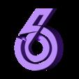 "6.stl Download free STL file Alphabet ""36 Days of Type"" • Template to 3D print, dukedoks"