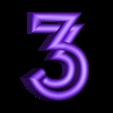 "3.stl Download free STL file Alphabet ""36 Days of Type"" • Template to 3D print, dukedoks"
