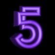 "5.stl Download free STL file Alphabet ""36 Days of Type"" • Template to 3D print, dukedoks"