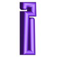 "I.stl Download free STL file Alphabet ""36 Days of Type"" • Template to 3D print, dukedoks"