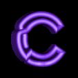 "C.stl Download free STL file Alphabet ""36 Days of Type"" • Template to 3D print, dukedoks"