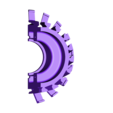 Fan-Disk-CW-Cut01ws.stl Download free STL file Jet Engine Component (5); Fan • Template to 3D print, konchan77