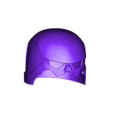 Monk_head_without_jaw.stl Download STL file Monk - Knights of Ren Helmet, 3D print model • 3D printer object, 3D-mon