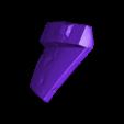 Armory_Damaged_Print1.stl Download OBJ file Armory - Knights of Ren Helmet (damaged), 3D print model • 3D print design, 3D-mon