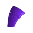 Armory_Damaged_Print11.stl Download OBJ file Armory - Knights of Ren Helmet (damaged), 3D print model • 3D print design, 3D-mon