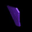 Armory_Damaged_Print24.stl Download OBJ file Armory - Knights of Ren Helmet (damaged), 3D print model • 3D print design, 3D-mon