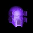 Sniper_Damaged_Final_Assembled.stl Download OBJ file Sniper - Knights of Ren Helmet (damaged), 3D print model • 3D printer object, 3D-mon