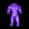 Body.stl Download OBJ file Jiren Dragonball Super Real version • 3D print object, Bstar3Dart