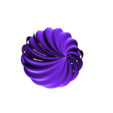 Lamp Spiral_1.stl Download free STL file Roof Lamp Spiral_1 • 3D printing design, JaimeGR