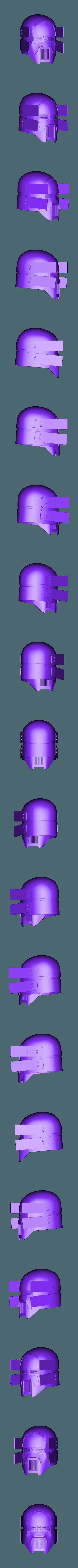 Sniper_Final_Assembled.stl Download OBJ file Sniper - Knights of Ren Helmet mask, Star Wars 3D print model • 3D printable model, 3D-mon