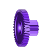 engrennage.stl Download free STL file 12/42 double gear wheel, gearing • 3D printer object, Andrieux