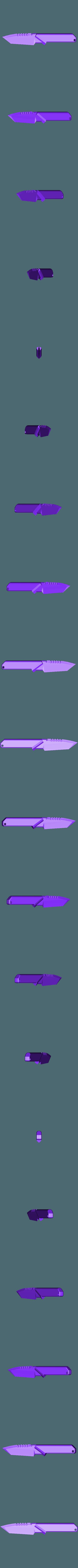 Couteau Custom.STL Download STL file COUTEAU CUSTOM • 3D printer model, 3dprintcreation
