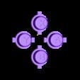 GamePi_Zero_Buttons_Action.stl Download free STL file GamePi Zero • 3D printer template, araymbox
